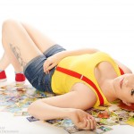 Misty Cosplay Pokemon Cards Bed Starring Chaos by Sam Dickinson Samiidoll