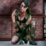 Quiet Cosplay Metal Gear Solid 5 Ready to Fight Starring Angela Bermudez by Kristian Rocha Photography
