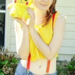 Pretty Misty Cosplay She Loves Pikachu Starring xazuxnyanxEmi