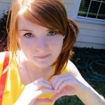 Adorable Misty Cosplay She Hearts You Starring xazuxnyanxEmi