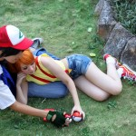 Misty Loves Ash Cosplay Comparing Pokeballs Starring Jhonkunagm and SailorMappy DeviantArt
