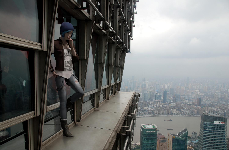 Life is Strange Fanart Chloe Skyscraper Vertigo by Mary-O-o