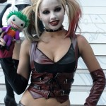 Harley Quinn Cosplay Joker Puppet by Spideyville
