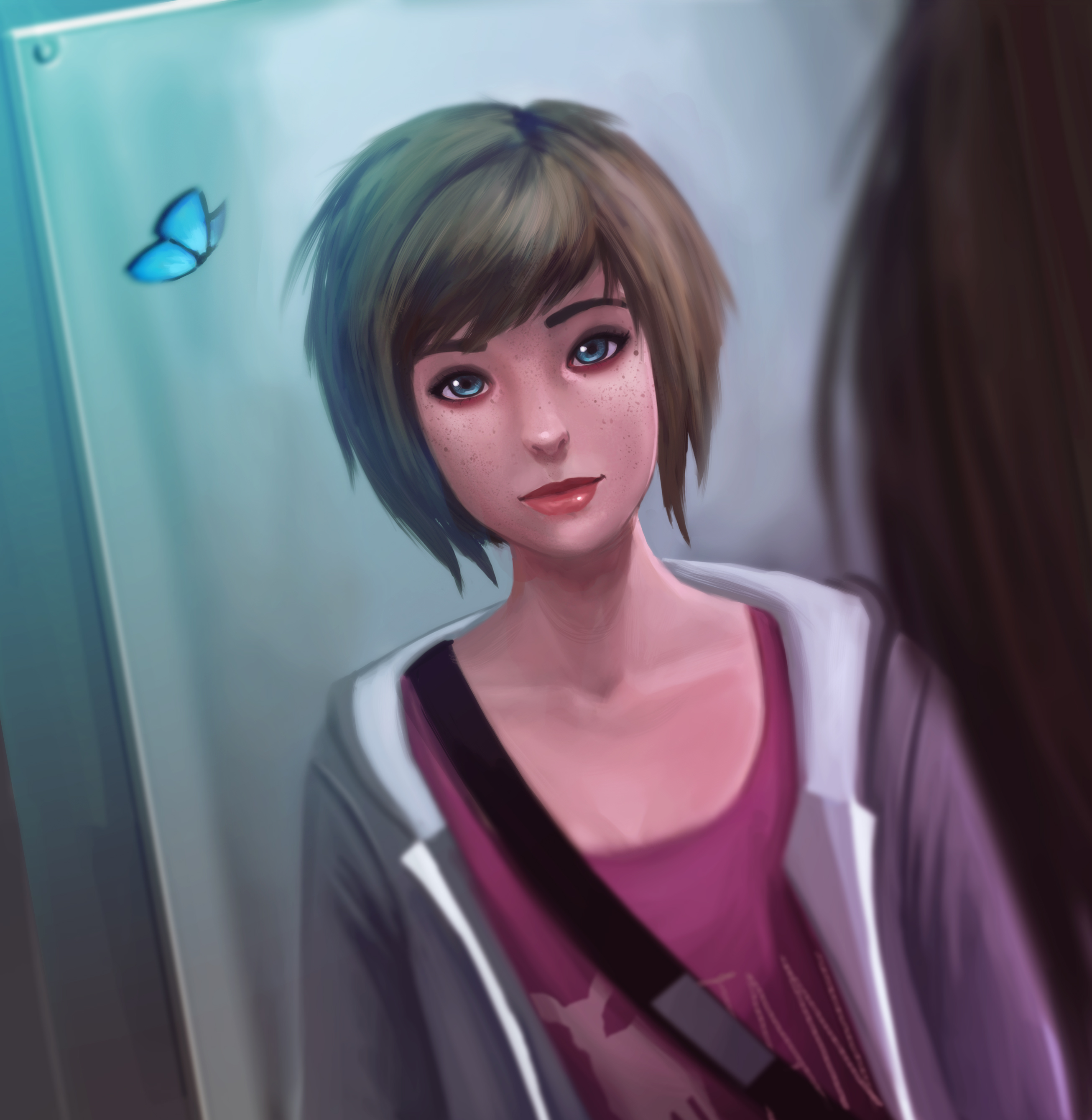 Life Is Strange Fanart Max Gorgeous Drawing by Doretetsu