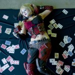 Harley Quinn Cosplay Bed of Cards