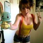Misty Cosplay Squirtle Puppet