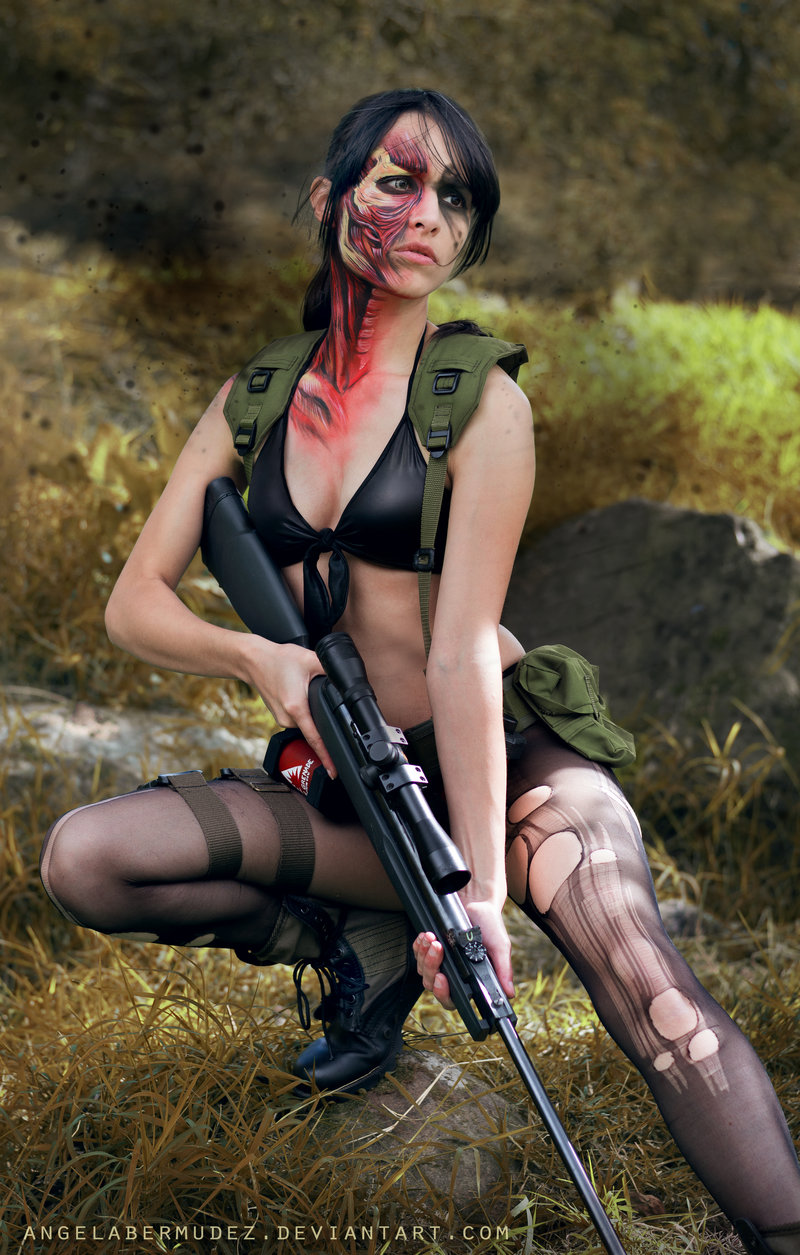 Quiet Cosplay Metal Gear Solid 5 Sniper Wolf Starring