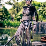 Hellblade Senua Cosplay Waterfront Starring LadyLemon