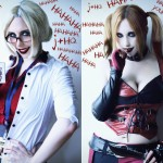 Harley Quinn Cosplay Dr Harleen Quinzel Multiple Personality Psychosis