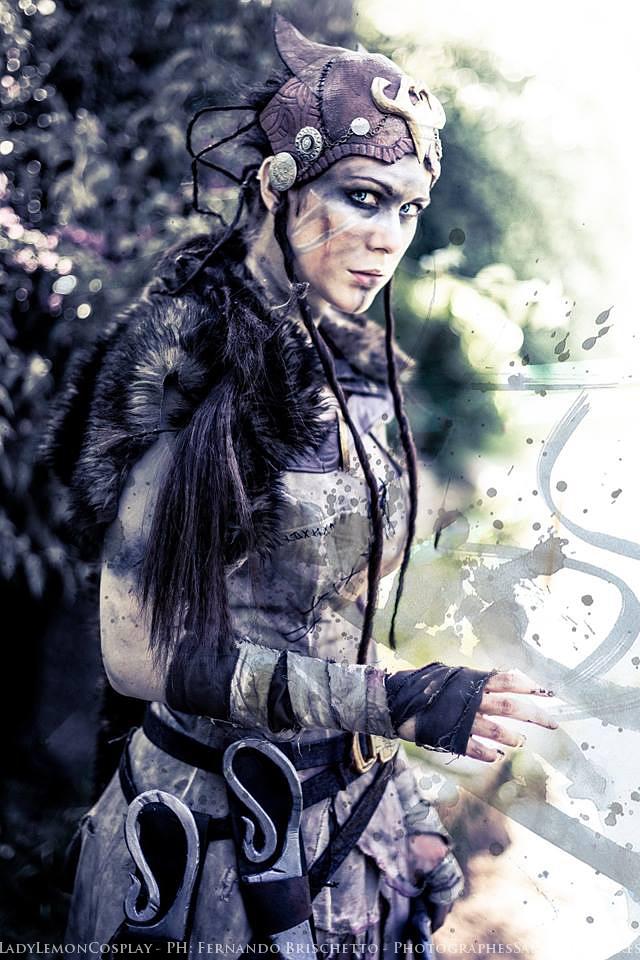 Hellblade Senua Cosplay Rugged Beauty Starring LadyLemon