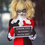 Harley Quinn Cosplay Classic Mugshotboard Gotham Police Department Jailshot