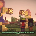 Minecraft: Story Mode Episode 2 Ellegaard Redstone Engineer's Mechanical Marvels World screenshot