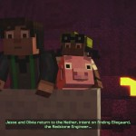 Minecraft: Story Mode Episode 2 Jesse, Olivia & Reuben screenshot
