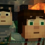 Minecraft: Story Mode Episode 2 Shocked Expression screenshot