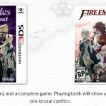 3DS Fire Emblem Fates Birthright Conquest Box Artworks
