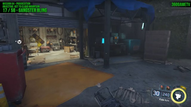 Call of Duty: Black Ops 3 Gangster Bling Location in Mission 4: Provocation