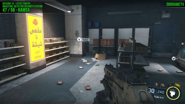 Call of Duty: Black Ops 3 Hamsa Location in Mission 10: Lotus Towers