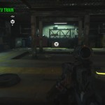 Call of Duty: Black Ops 3 Model Maglev Train Location in Mission 2: New World