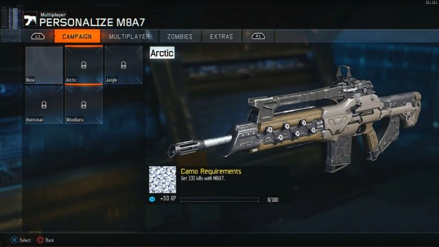 Call Of Duty Black Ops 3 Unlockable Campaign Camos