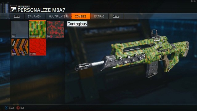 Call of Duty: Black Ops 3 Unlockable Zombies Camos
