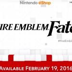 Fire Emblem Fates Release Date 3DS February 19 2016 Artwork