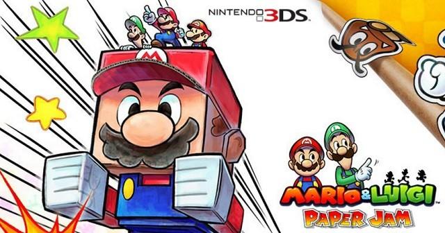 Mario Luigi Paper Jam Release Date Announced 3ds Amiibo