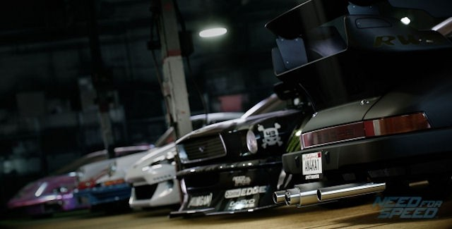 Need for Speed 2015 Car List