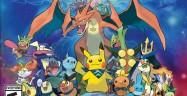 Pokemon Super Mystery Dungeon Cast Artwork 3DS