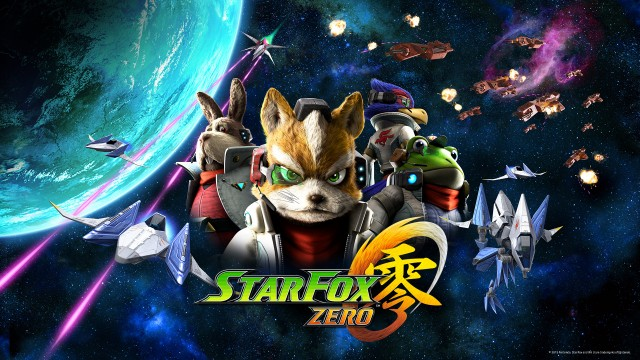 Star Fox Zero Space Cast Wallpaper Wii U