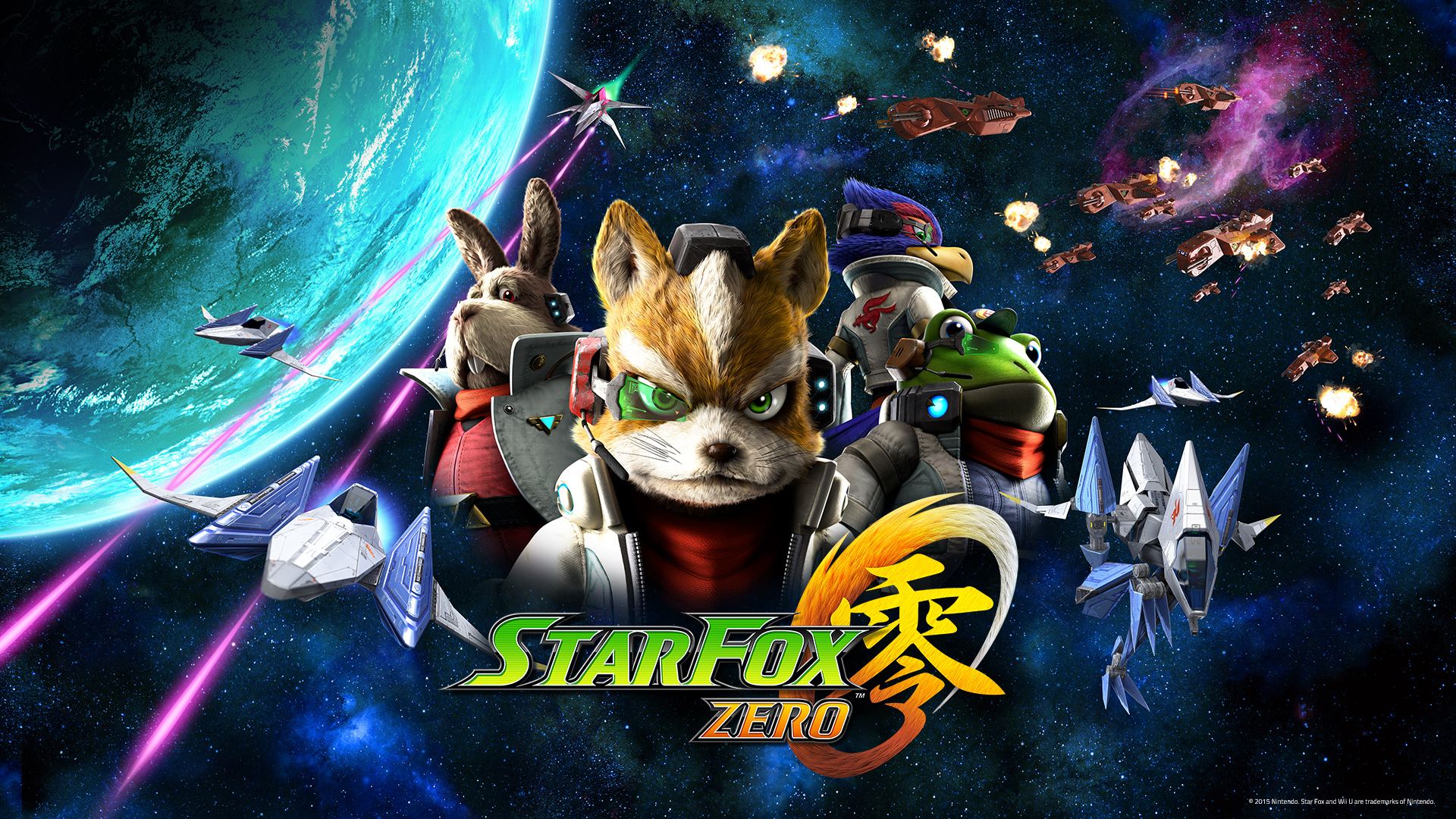 Star Fox Zero Space Cast Wallpaper Wii U