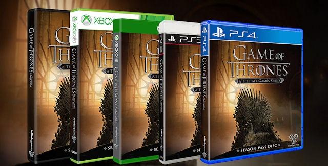 Telltale Game of Thrones Season 2 Release Date