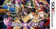 3DS Project X Zone 2 USA Box Artwork T for Teen