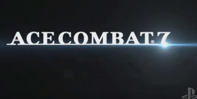 Ace Combat 7 PS4 Logo Official PSVR