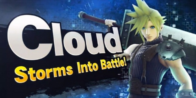 Cloud Super Smash Bros 4 Final Fantasy VII Invades Wii U 3DS
