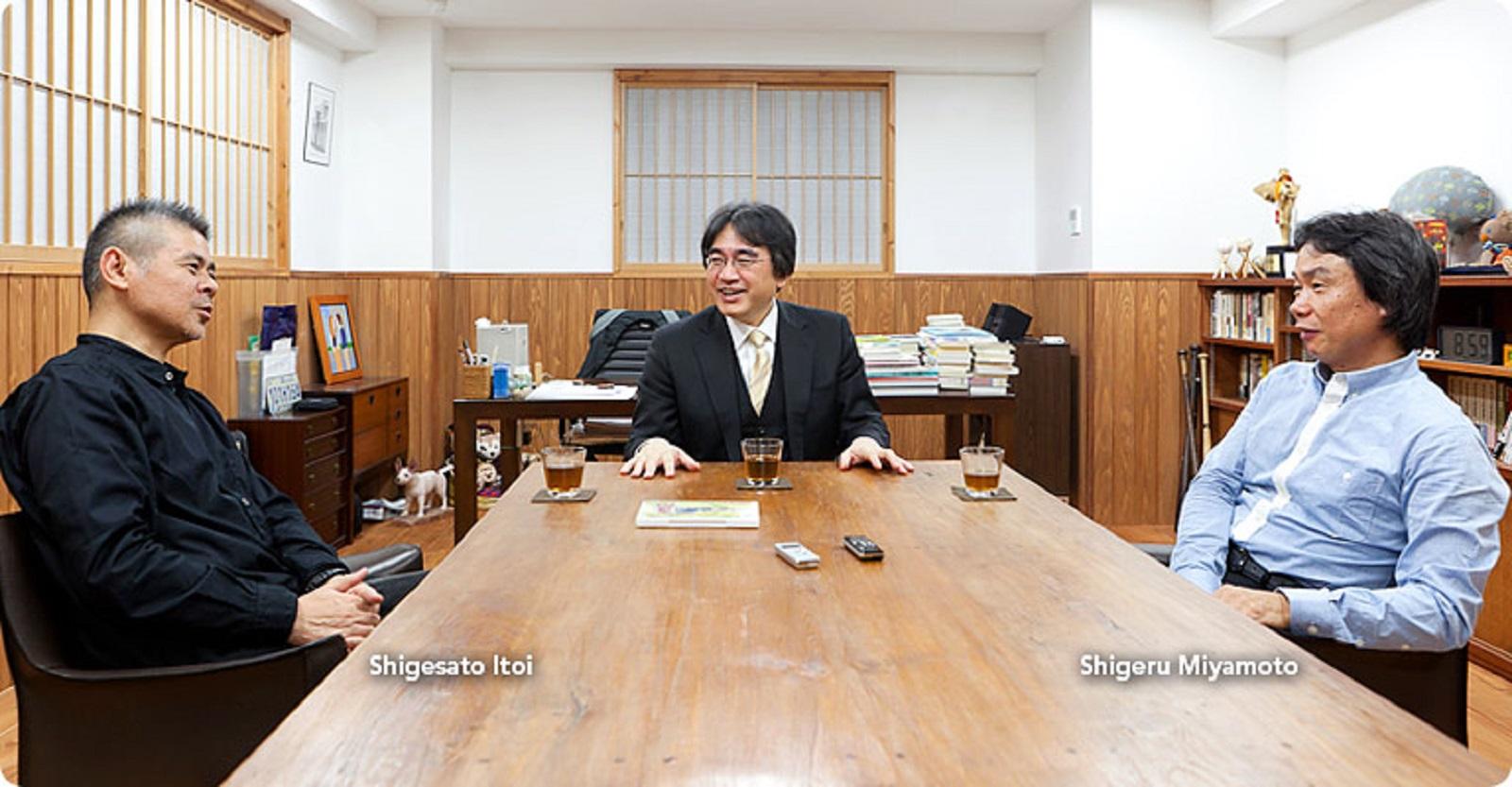 EarthBound Creator Shigesato Itoi with Satoru Iwata Shigeru Miyamoto RIP
