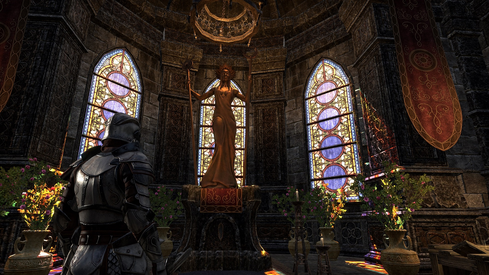 Elder Scrolls Online Tamriel Unlimited Screenshot Lady of Stormhaven