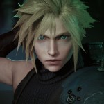 Final Fantasy VII Remake Cloud Strife Face Screenshot