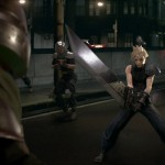 Final Fantasy VII Remake Cloud Strife Sword Screenshot