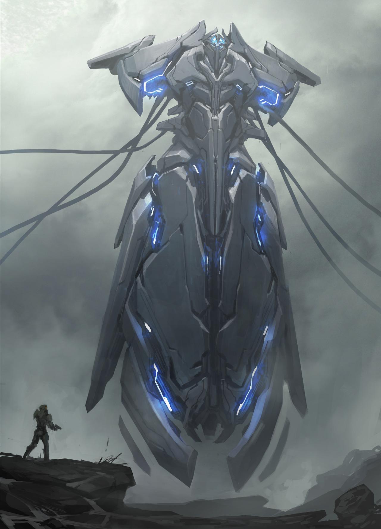 Concept Art Halo 5