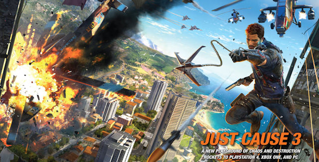 Just Cause 3 Cheats