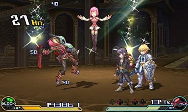 Project X Zone 2 Gameplay screenshot Battle 3DS