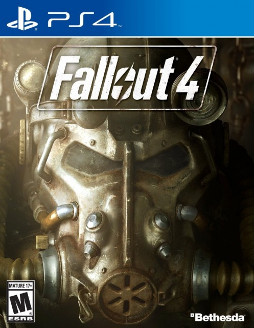 PS4 Fallout 4 USA Box Artwork M for Mature