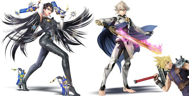 Bayonetta Corrin Join Cloud As Final DLC Characters Amiibo For Super Smash Bros Wii U 3DS