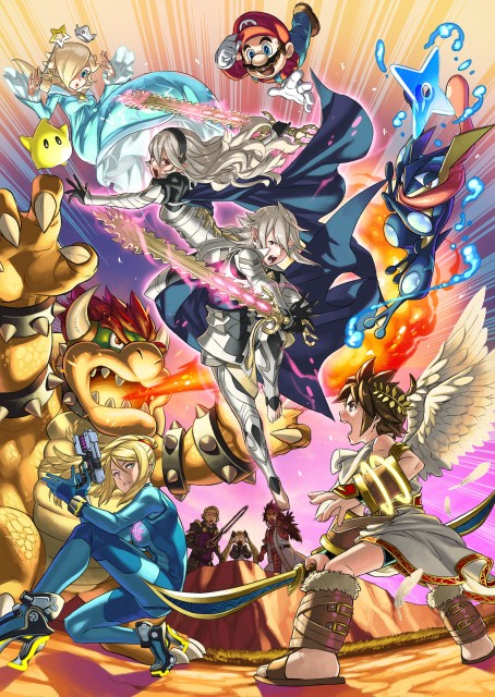 Super Smash Bros Wii U and 3DS Corrin Artwork