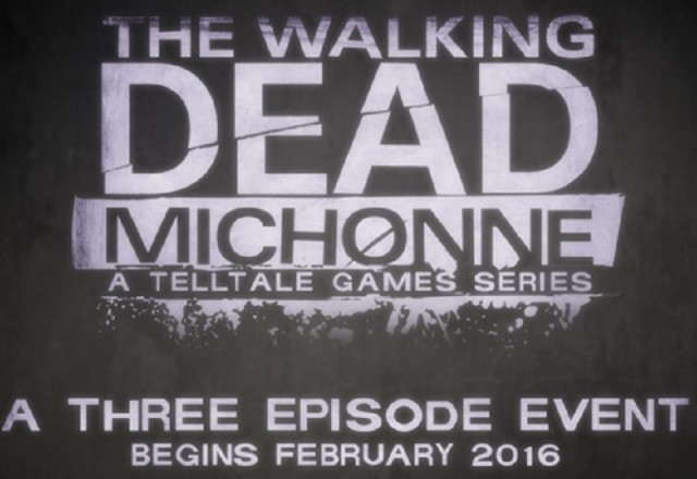 The Walking Dead Michonne A Telltale Game Series Release Date February 2016 Artwork Officiail