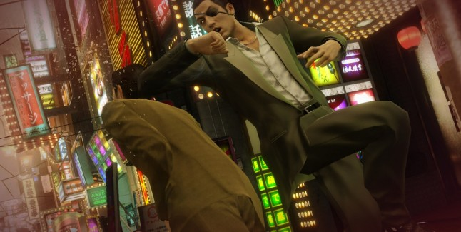 Yakuza 0 Goro Elbow to Head Gameplay Screenshot PS4 USA