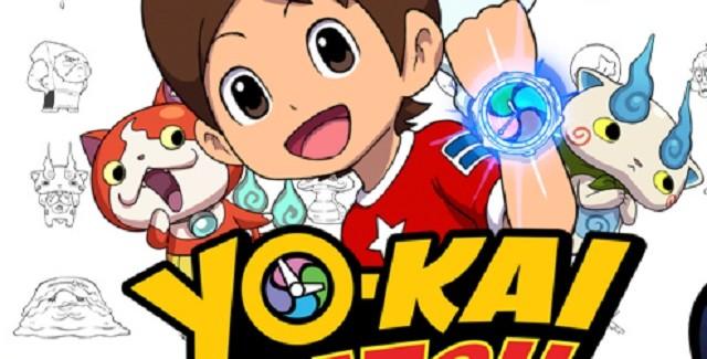 Yokai Watch Banner Artwork 3DS