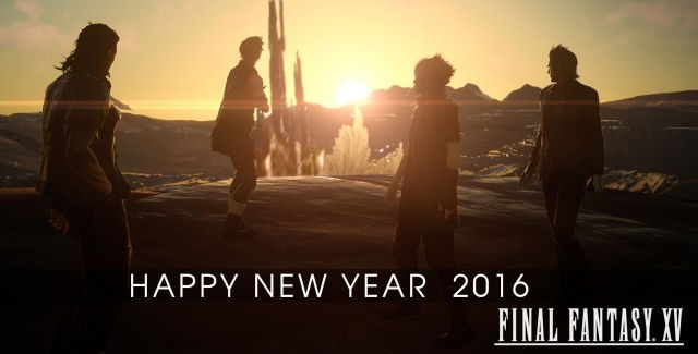 Happy New Year - Final Fantasy XV Will Arrive In 2016