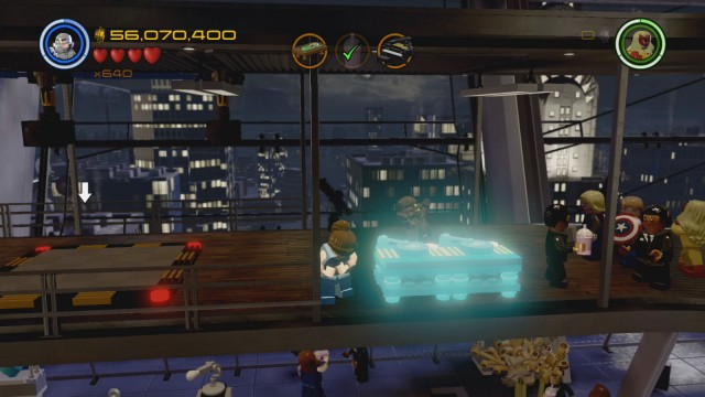 Lego Marvel's Avengers Red Brick 12: Stan Lee In Peril Detector Location