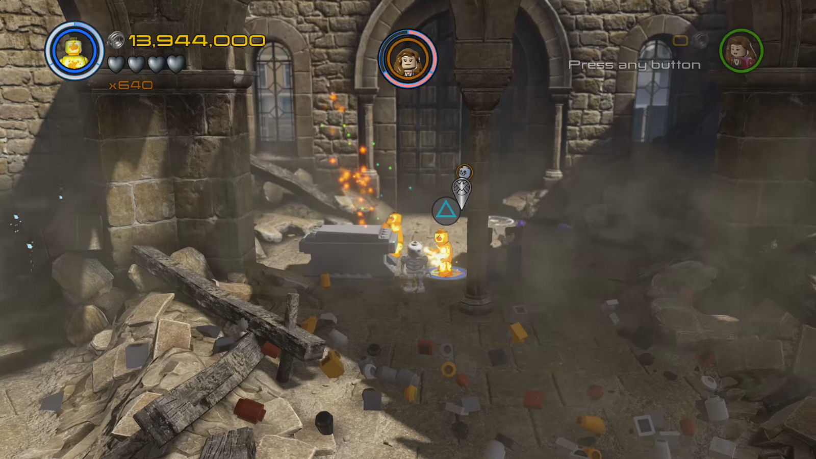 Lego Marvel's Avengers Red Brick 16: Collect Ghost Studs Location